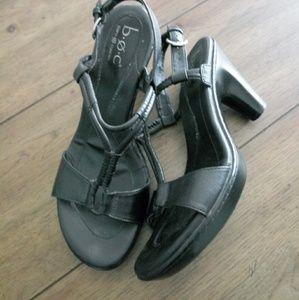 BOC Born T-Strap Sz 10 Heels in Black